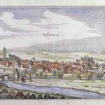Kupferstich, Stadtansicht Simmern | Matthäus Merian der Ältere | Frankfurt am Main 1650