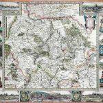Kupferstichkarte der Kurpfalz | Amsterdam 1630