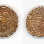 Augen-Stater |  ca. 50 v. Chr. | Münze der Treverer vom Pottina-Typ