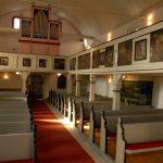Ev. Kirche Dill - Innenansicht
