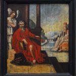 Ev. Kirche Dill - Malerei an der Empore