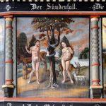 Ev. Kirche Lötzbeuren - Malerei an der Empore