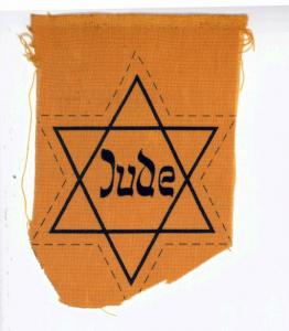 """""""Judenstern"""" einer jüdischen Familie aus Laufersweiler"""