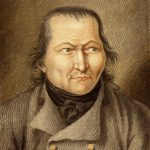Karl Matthias Ernst: Johann Müller (gen. »Müllerhannes« oder »Butla«) | Mainz, 1803 | Gouache | Mainz, Stadtarchiv