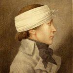 Karl Matthias Ernst: Georg Friedrich Schulz (gen. »Schlechter Freier«) | Mainz, 1803 | Gouache | Mainz, Stadtarchiv