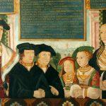 Herzog Johann II. von Pfalz-Simmern und seine Familie