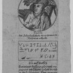 Bildnis des Schinderhannes sowie Abbildung einer Sicherheitskarte<br>Kupferstich 27.03.1820(?) | Nürnberg, Germanisches Nationalmuseum